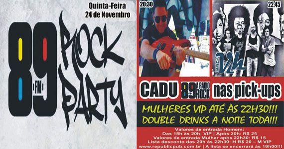 Banda Vih e DJ Cadu agitam a noite com pop rock no Republic Pub Eventos BaresSP 570x300 imagem