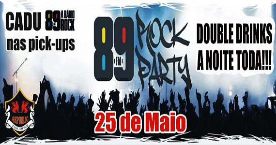 89 Rock Party no Republic