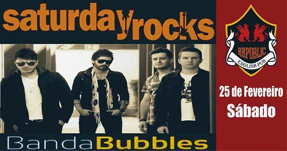 Banda Bubbles se apresenta no Republic Pub com o melhor do pop rock Eventos BaresSP 570x300 imagem