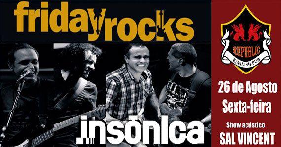 Banda Insônica comanda a noite com pop rock no Republic Pub Eventos BaresSP 570x300 imagem