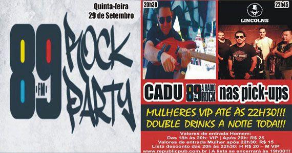 Banda Lincolns e DJ Cadu comandam a quinta-feira do Republic Pub Eventos BaresSP 570x300 imagem