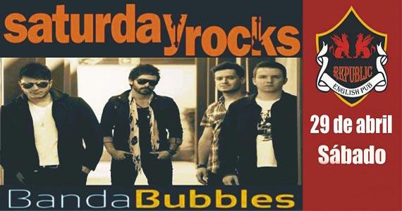 Banda Bubbles anima a noite com clássicos do rock no Republic Pub Eventos BaresSP 570x300 imagem