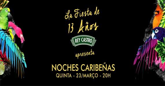 Rey Castro comemora 13 anos com festa de reggaeton, tequila e mojitos BaresSP