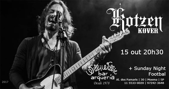 O power trio Richie Kotzen Cover toca o som do músico Richie Kotzen no Willi Willie Bar Eventos BaresSP 570x300 imagem