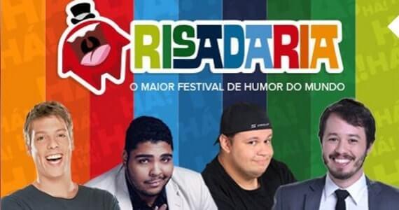Risadaria 2017 apresenta Fábio Porchat, Rogério Morgado e Victor Camejo no palco do Teatro Sérgio Cardoso Eventos BaresSP 570x300 imagem