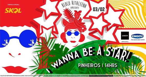 Carnaval 2018 com o Bloco Ritaleena comandando o agito em Pinheiros Eventos BaresSP 570x300 imagem