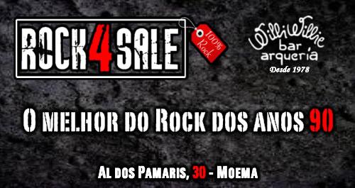 Programação - Rock 4 Sale