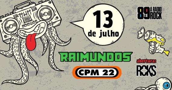 Dia Mundial do Rock da 89 FM reúne Raimundos e CPM 22 no palco da Audio Eventos BaresSP 570x300 imagem