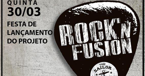 Festa de lançamento do projeto Rock'n Fusion com Mamá Trindade no The Sailor Eventos BaresSP 570x300 imagem