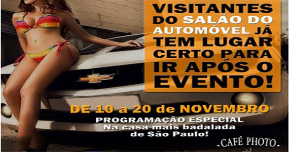 Café Photo é o seu destino certo para depois do Salão Internacional do Automóvel Eventos BaresSP 570x300 imagem