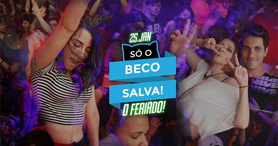 Beco 203 não vai deixar o seu feriado de aniversário de SP passar em branco vem para o Só no Beco salva o seu feriado Eventos BaresSP 570x300 imagem