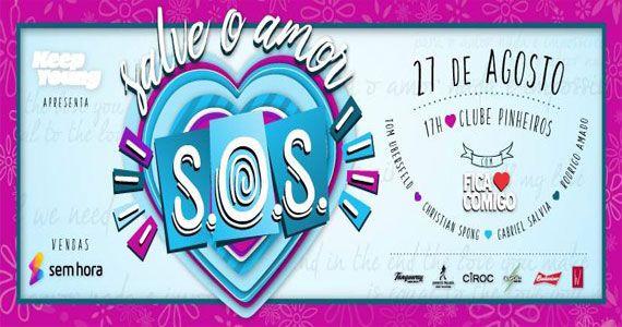 S.O.S - Salve o Amor com banda Fica Comigo no Esporte Clube Pinheiros Eventos BaresSP 570x300 imagem