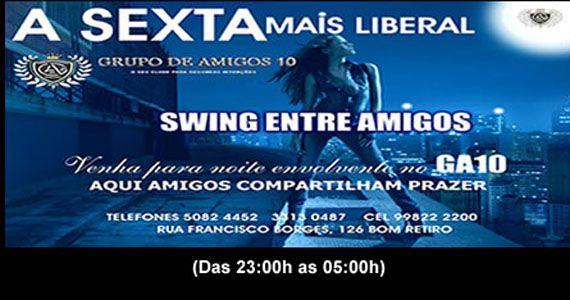 Sexta é dia de Swing entre Amigos embalando à noite no GA10 Eventos BaresSP 570x300 imagem