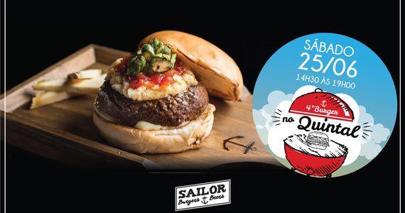 4ª edição do Burger no Quintal na tarde de sábado do Sailor Burger Eventos BaresSP 570x300 imagem