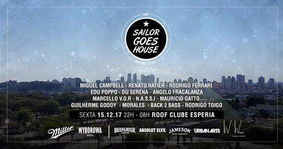 Projeto Sailor Goes House fecha o ano com rooftop inédito e DJ top inglês no Clube Esperia Eventos BaresSP 570x300 imagem