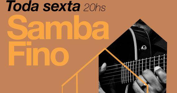 Grupo Samba Fino comanda o agito toda sexta Na Casa do Samba BaresSP