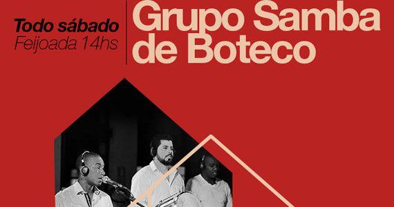 Grupo Samba de Boteco comanda o sábado com feijoada do Na Casa do Samba BaresSP