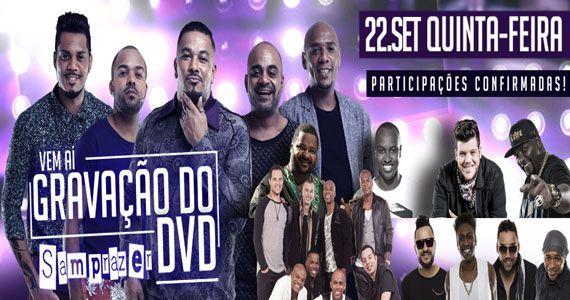Grupo Samprazer grava DVD com convidados especiais na Audio Eventos BaresSP 570x300 imagem