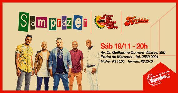 Projeto Na Boca do Povo com grupo Samprazer Na Casa do Samba Eventos BaresSP 570x300 imagem