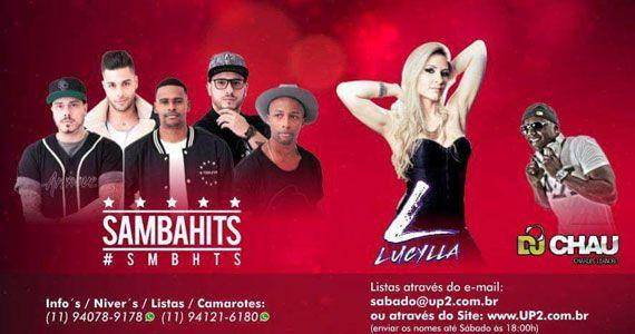 Nos Embalos de Sábado a Noite com Lucylla e Samba Hits no Santa Julia Eventos BaresSP 570x300 imagem