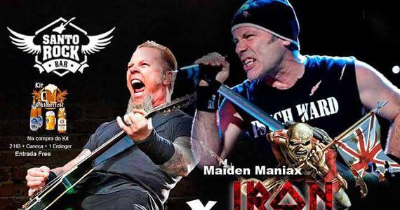 Bandas covers do Metallica e Iron Maiden agitam a véspera de feriado do Santo Rock Bar Eventos BaresSP 570x300 imagem