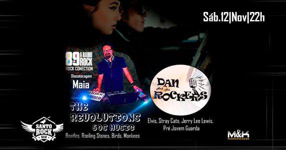 Banda The Revolutions comanda o sábado com pop rock no Santo Rock Bar Eventos BaresSP 570x300 imagem