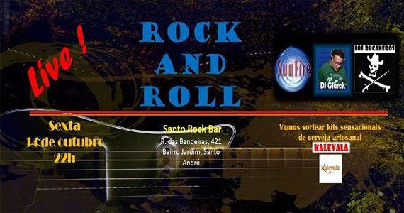 Bandas Los Bucaneros e Sunfire comandam a sexta com pop rock no Santo Rock Bar Eventos BaresSP 570x300 imagem