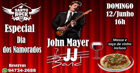 Santo Rock Bar com show de John Mayer Cover no Dia dos Namorados Eventos BaresSP 570x300 imagem