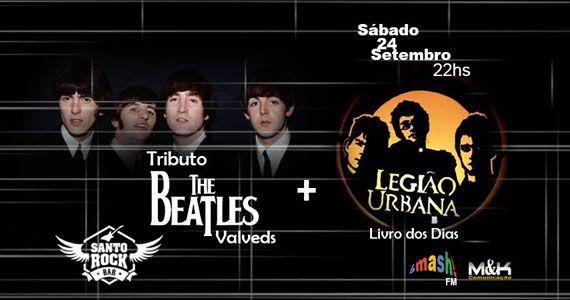 Bandas Valveds e Livro dos Dias fazem tributo as bandas Beatles e Legião Urbana no Santo Rock Bar Eventos BaresSP 570x300 imagem