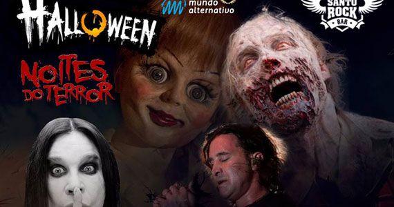 Festa de Halloween com bandas Bullets, Monoxide e Hop & Malt no Santo Rock Bar Eventos BaresSP 570x300 imagem