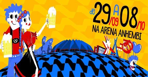 Acontece na capital paulista a primeira edição da Festa São Paulo Oktoberfest no Anhembi Eventos BaresSP 570x300 imagem