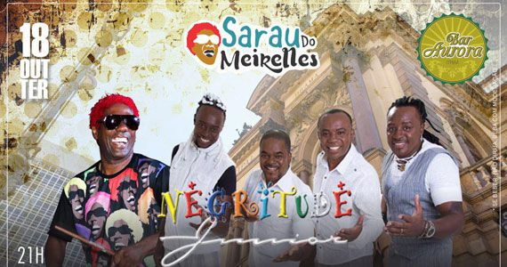 Bar Aurora traz projeto Sarau do Meirelles com participação de Negritude Jr. Eventos BaresSP 570x300 imagem