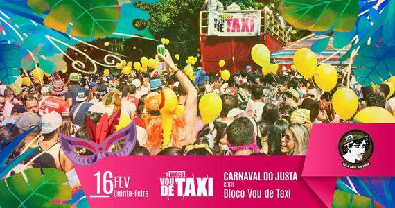 Vila Seu Justino recebe esquenta de Carnaval com o bloco Vou de Taxi Eventos BaresSP 570x300 imagem