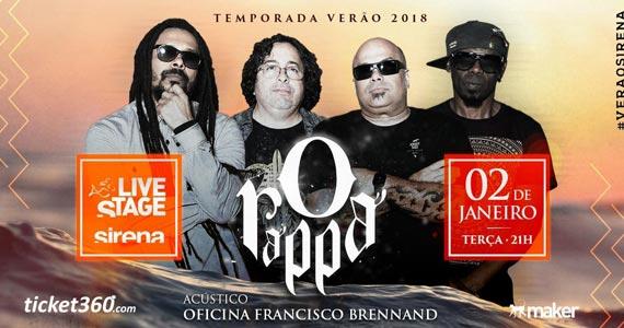 Banda O Rappa apresenta seus sucessos no palco do Sirena Maresias Eventos BaresSP 570x300 imagem