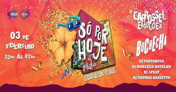 Bloco Só Por Hoje com Carrossel de Emoções e Buchecha no pré-carnaval Eventos BaresSP 570x300 imagem