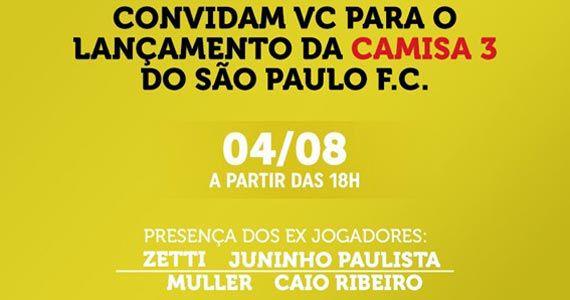 Soul Sports Bar arma lançamento da nova camiseta do São Paulo Eventos BaresSP 570x300 imagem