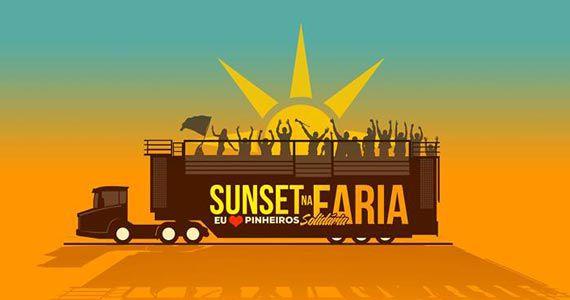 Sunset na Faria comemora 456 anos do bairro de Pinheiros neste domingo Eventos BaresSP 570x300 imagem