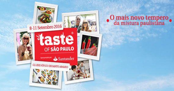 eventos - Taste Of São Paulo reúne restaurantes e chefs renomados no Clube Hípico de Santo Amaro
