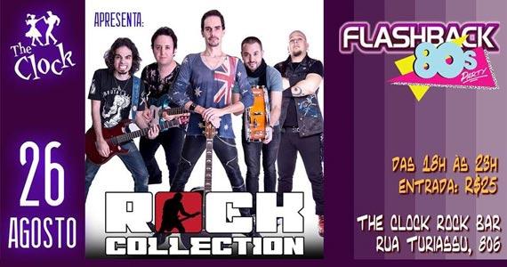 Banda Rock Collection Toca O Melhor Dos Anos 80 No The Clock