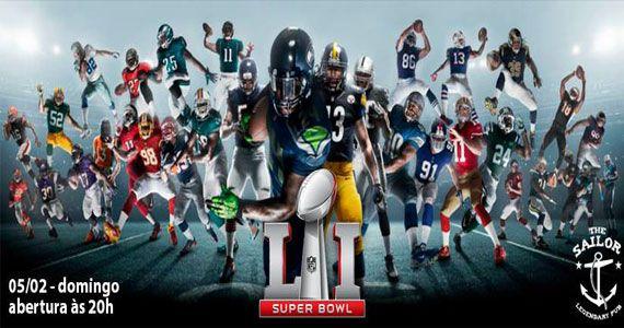 The Sailor transmite jogo final do Super Bowl com Open Beer Eventos BaresSP 570x300 imagem