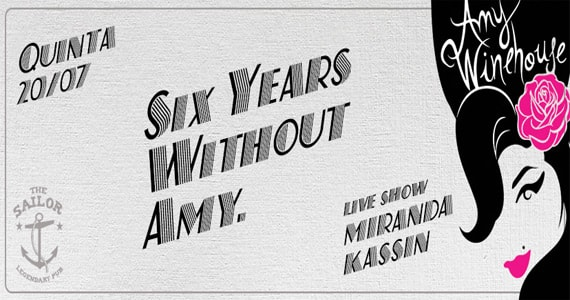 The Sailor recebe show Six Years Without com Miranda Kassin Eventos BaresSP 570x300 imagem