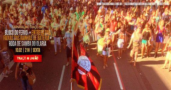 Bloco do Fervo e Roda de Samba do Olaria animam o Traço de União Eventos BaresSP 570x300 imagem