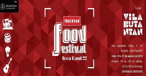 Truckvan Food Festival especial Raul Seixas acontece no Vila Butantan Eventos BaresSP 570x300 imagem