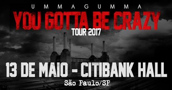 Banda Ummagumma The Brazilian Pink Floyd apresenta a turnê YOU GOTTA BE CRAZY, em homenagem aos 40 anos do ANIMALS no Citibank Hall Eventos BaresSP 570x300 imagem