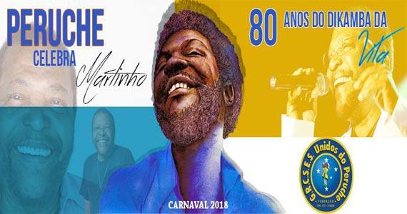 Unidos do Peruche realiza ensaios para o Carnaval 2018 nas quartas e domingos Eventos BaresSP 570x300 imagem