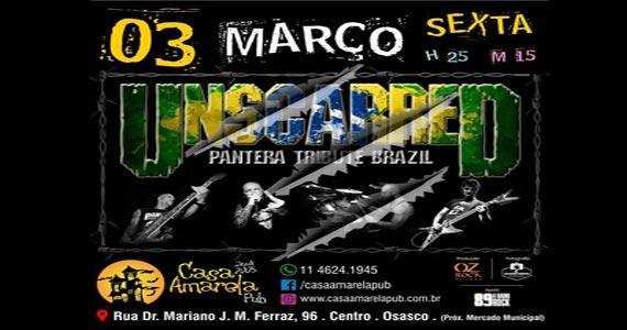 A banda Unscarred apresenta o Pantera Tribute Brazil na Casa Amarela Pub Eventos BaresSP 570x300 imagem