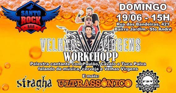 Banda Velhas Virgens se apresentam no Santo Rock Bar no domingo Eventos BaresSP 570x300 imagem