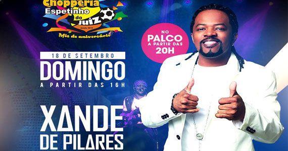 Xande de Pilares faz show com sucessos do samba no Espetinho do Juiz Patriarca Eventos BaresSP 570x300 imagem