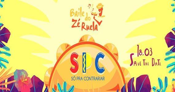 Baile do Zé Ruela com show do grupo Só Pra Contrariar no La Luna Eventos BaresSP 570x300 imagem
