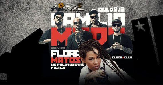 ABASE especial de férias com a Familia Mada convidando Flora Matos na Clash Club Eventos BaresSP 570x300 imagem